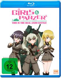 Girls und Panzer OVA: This is the Real Anzio Battle!