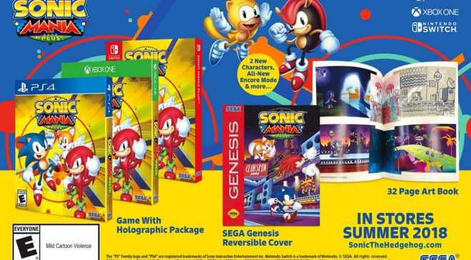 SONIC Mania Retail und Animation