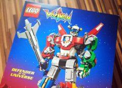LEGO Ideas Voltron-  der Beschützer daheim