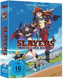 Slayers Movie & OVA Box