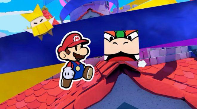 Mario aus Papier