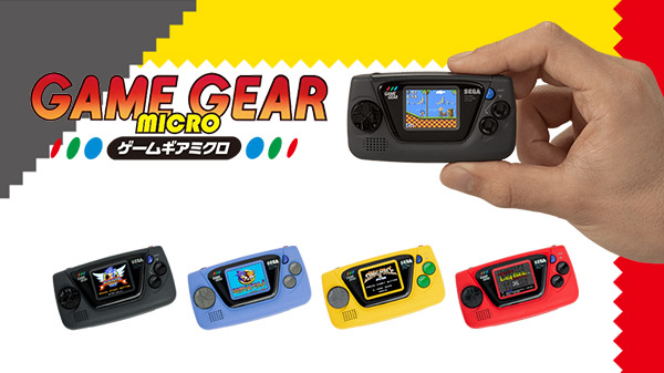 Klein, kleiner Micro Game Gear