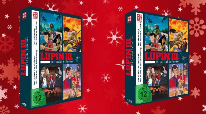 Lupin Coverart steht